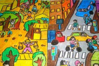 """Cuộc thi vẽ tranh """"Hà Nội xưa và nay"""""""